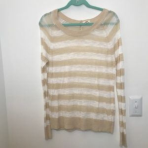 Aerie | women's striped sweater NWOT Size XL